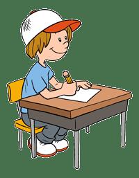 student-at-desk