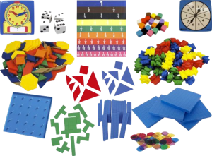 more manipulatives