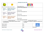 Draft Individual Provision Plan template