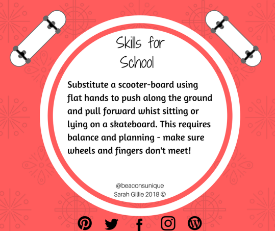 Copy of Skills for School Skateboard