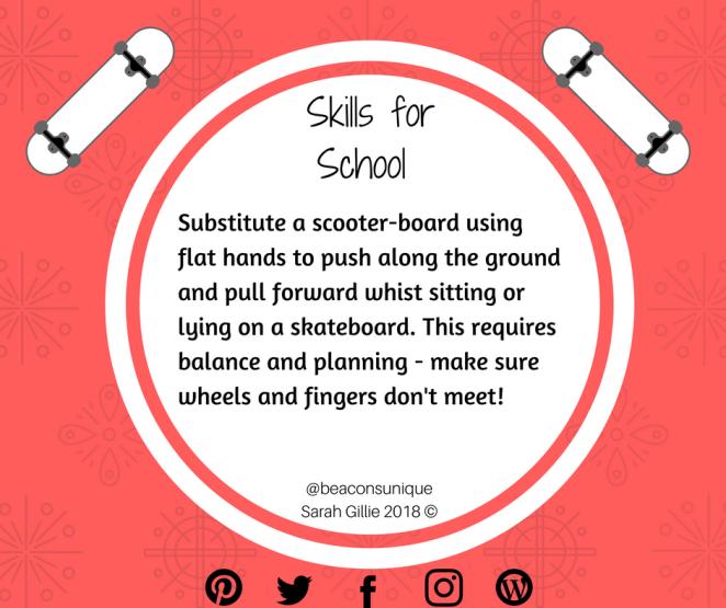 Copy of Skills for School Skateboard
