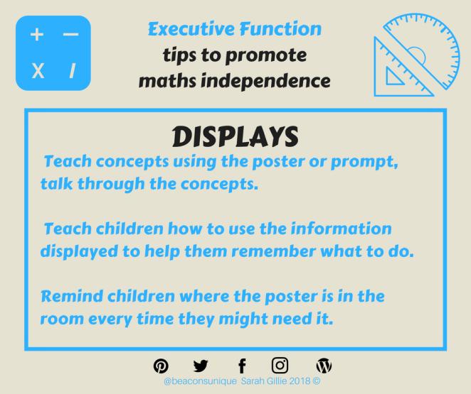 Math displays