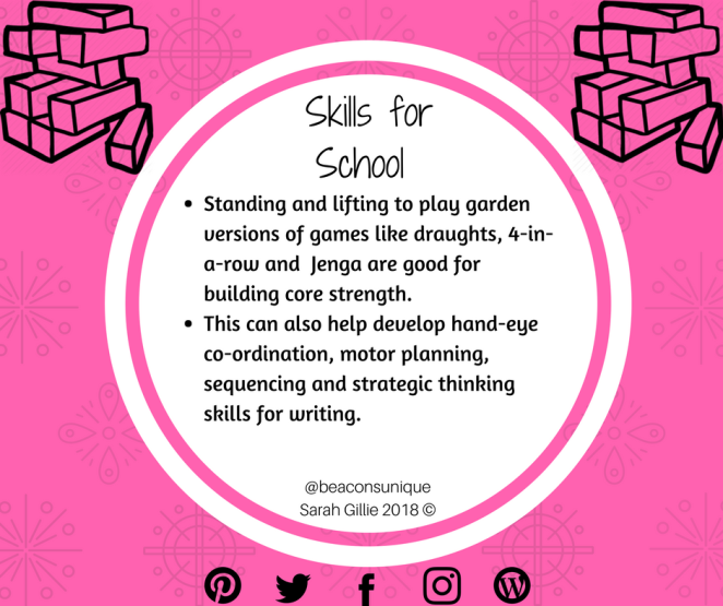 Skills for School Garden Games
