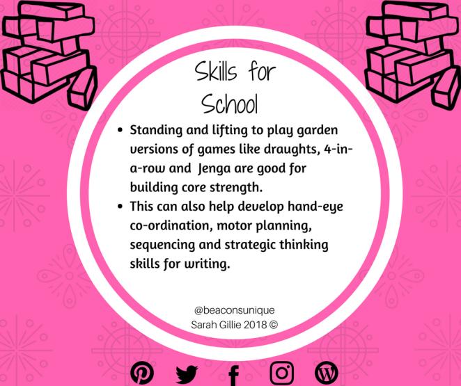 Skills for School Garden Games