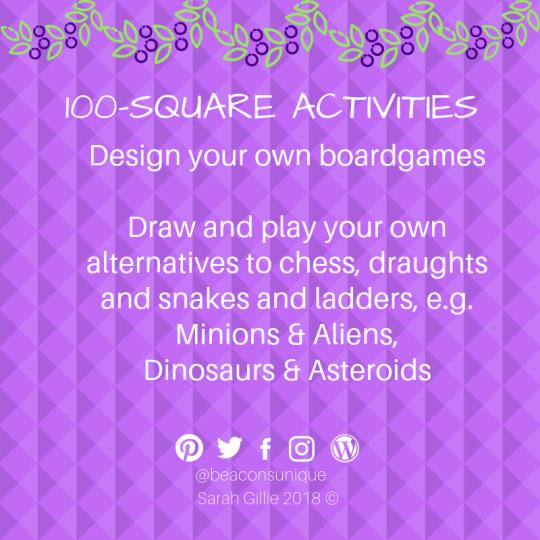 100 square games