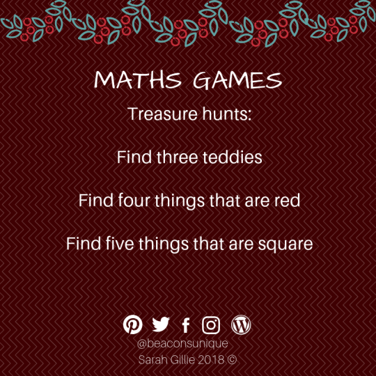 Advent maths hunt