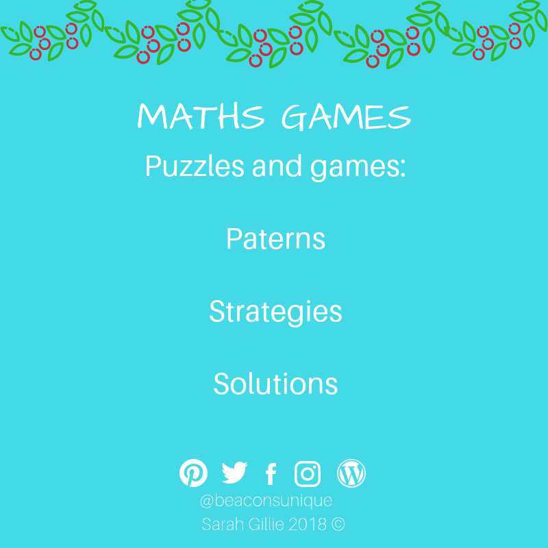 Advent maths puzzles