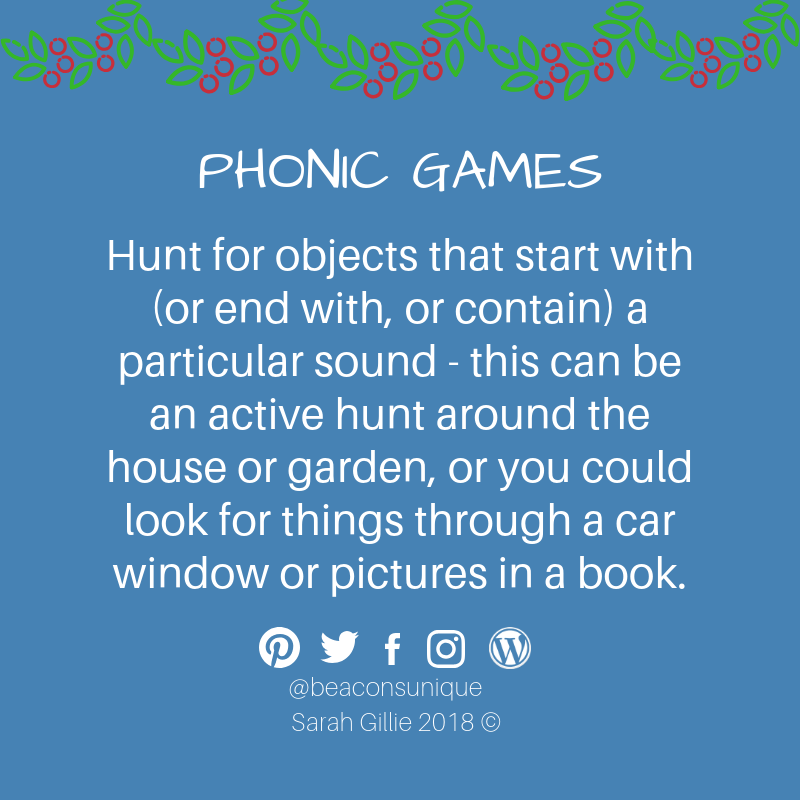 Advent phonic find the sounds