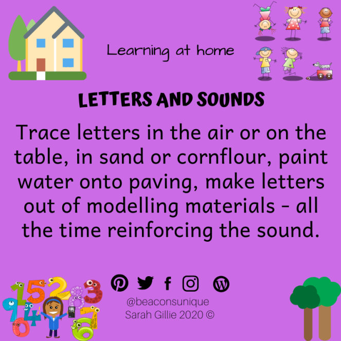 April letters and sounds